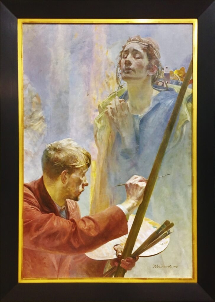 "malczewski and the ideas of young Saint francis by jacek malczewski and the dionysian idea studium z ikonologii i estetyki recepcji danuta waberska's ""st joseph with young jesus."