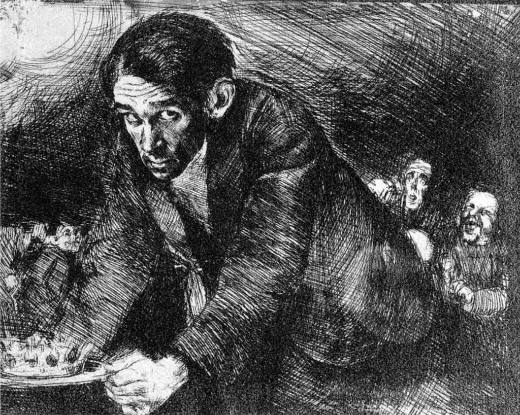 bruno-schulz-1922-autoportret Living inside a story