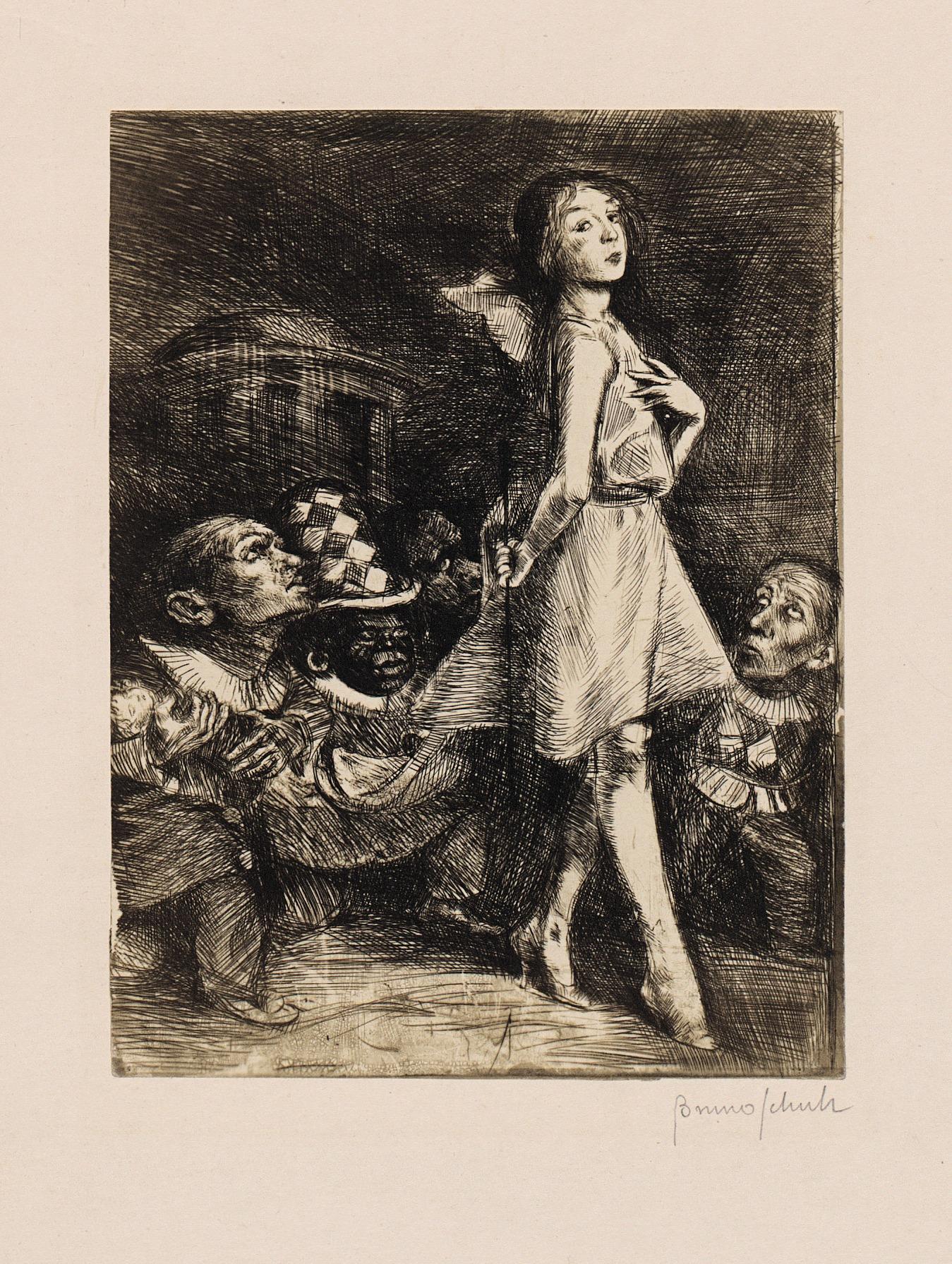 bruno-schulz-1922-the-infanta-and-her-dwarves Living inside a story