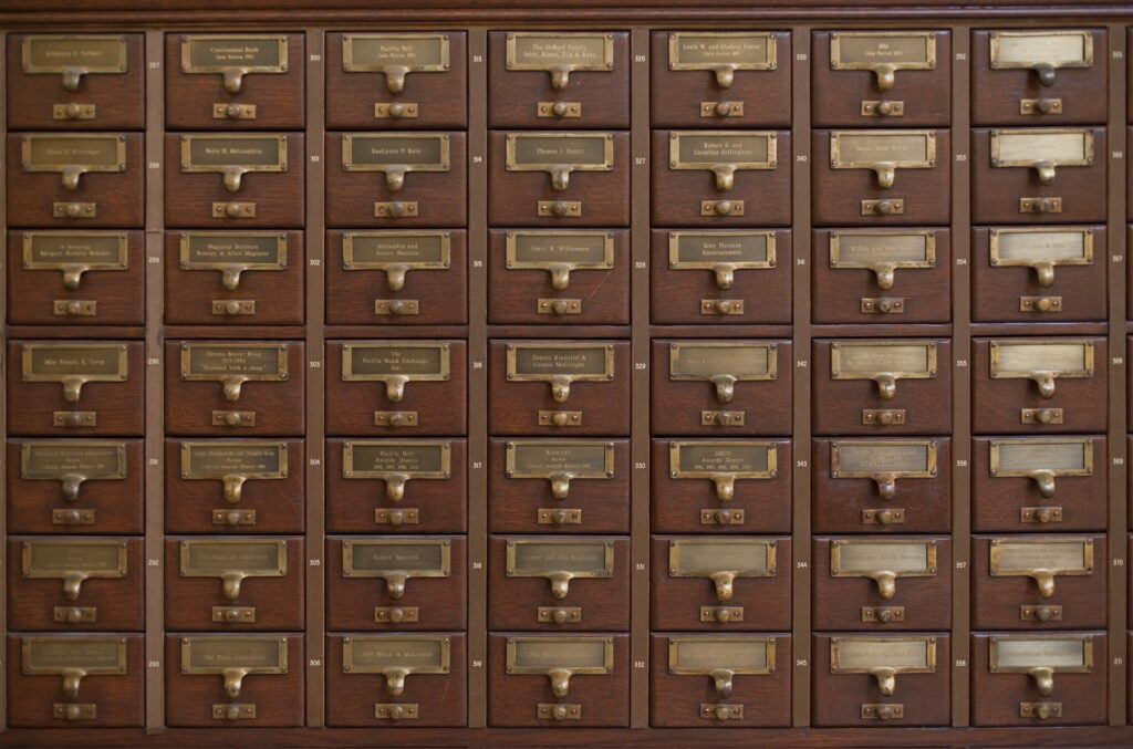 card-catalog-as-a-heap-1024x677 Resource Management in perspective: the Heap